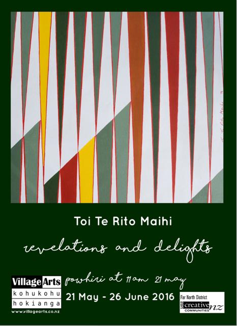 Village Arts - Toi Te Rito Maihi Invitation